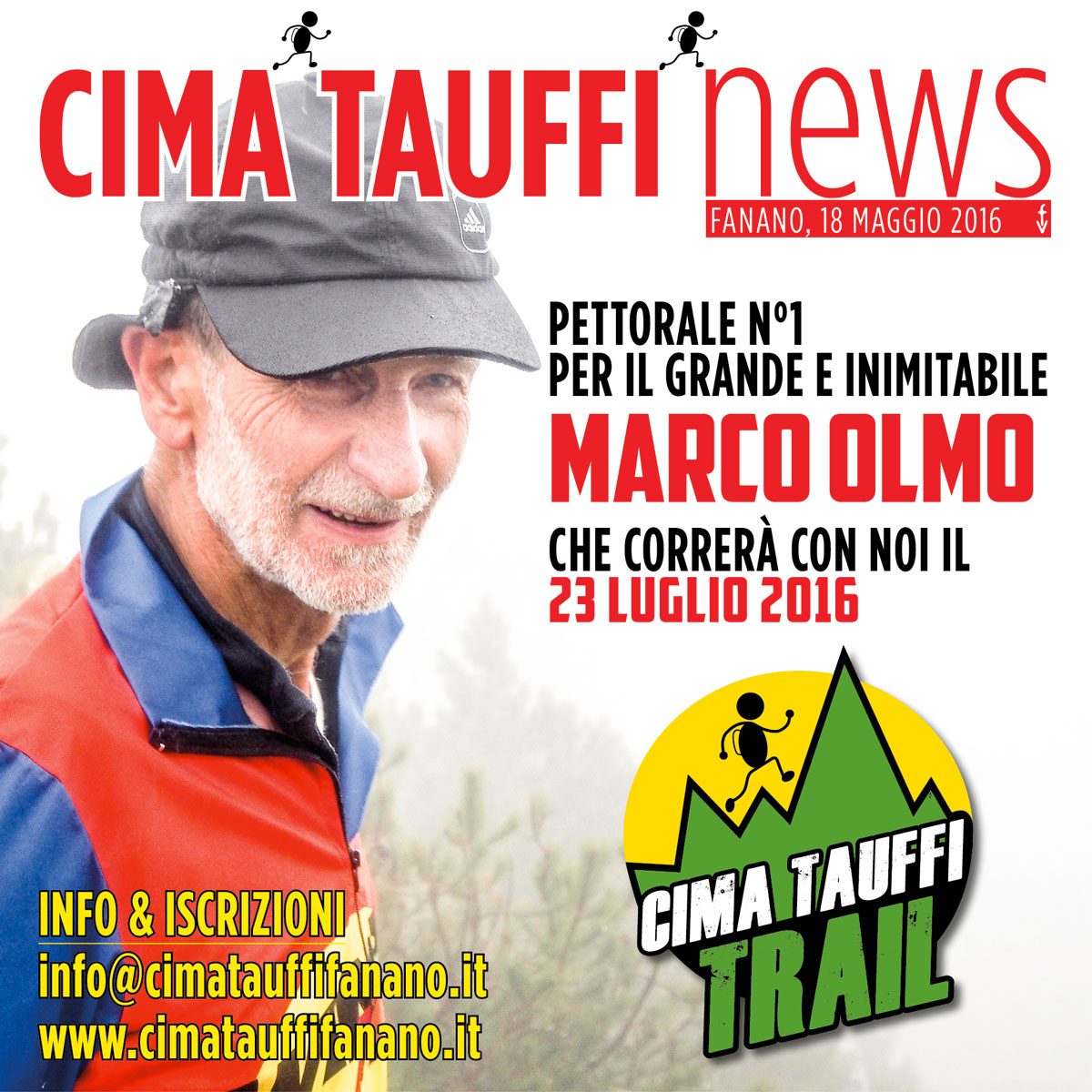 5 C TAUFFI TRAIL news marco olmo